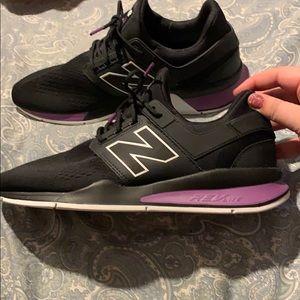 New Balance 247 Black with Purple